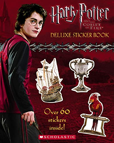 9780439632997: Harry Potter And The Goblet of Fire: Sticker Book