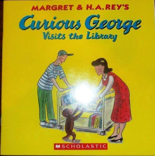 9780439634366: Curious George Visits the Library