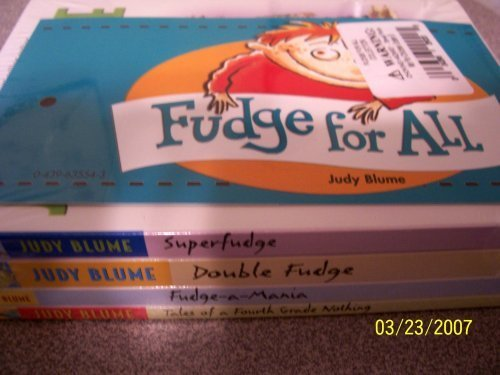 Judy Blume Fudge For All Collection (Fudge)