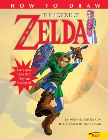 9780439635813: How to Draw the Legend of Zelda (Troll)