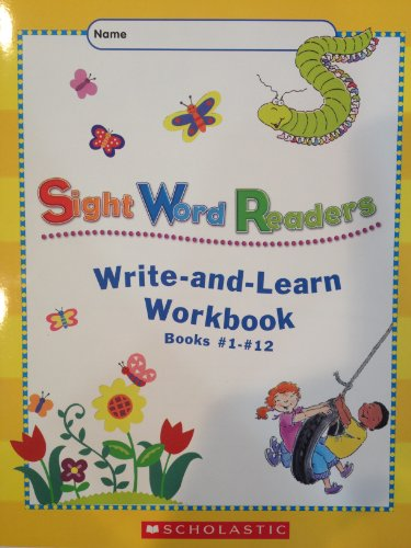 9780439636124: Sight Word Readers Write-and-Learn Workbook Books #1-#12