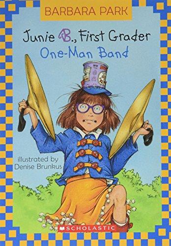 9780439638234: Junie B., First Grader: One-Man Band (Junie B. Jones, Book 22)