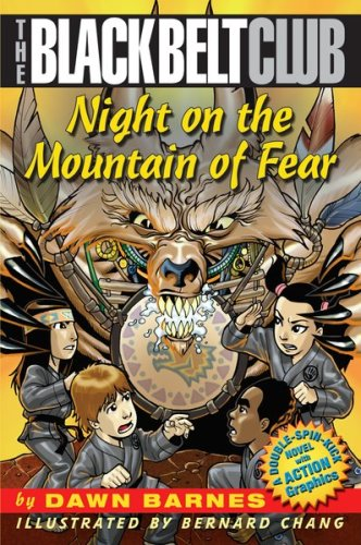 9780439639378: Night On The Mountain Of Fear (Black Belt Club)