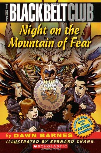 9780439639392: Night On The Mountain Of Fear (Black Belt Club)