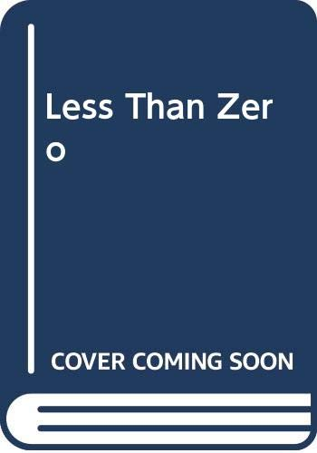 9780439639583: Less Than Zero: MathStart Negative Numbers (Mathstart)