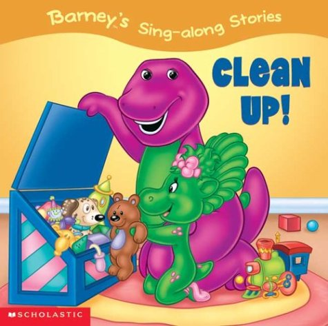 9780439639781: Barney's Sing-a-long Stories: Clean Up!