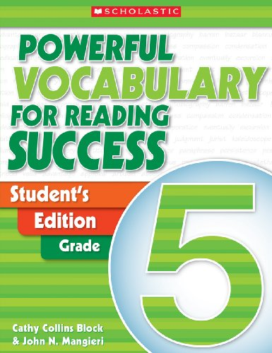 9780439640565: Powerful Vocabulary for Reading Success: Student Workbook, Grade 5
