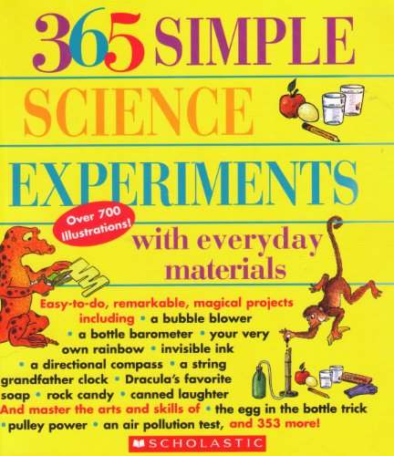 9780439648769: 365 Simple Science Experiments with Everday Materials
