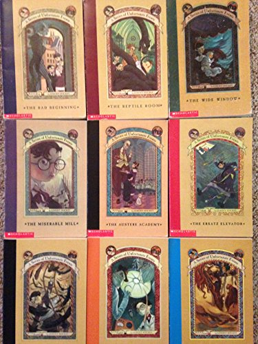 Series of Unfortunate Events Set books #1-9
