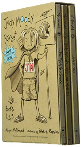 9780439651806: Judy Moody Box Set - Judy Moody, Judy Moody gets famous and Judy Moody saves the World!