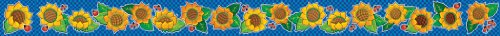 9780439652483: Sunflowers Borders with Corners