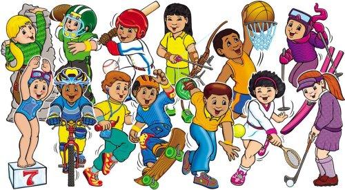 9780439654531: Sport Kids! Bulletin Board
