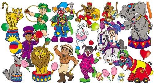 9780439654678: Circus Big Top! Bulletin Board