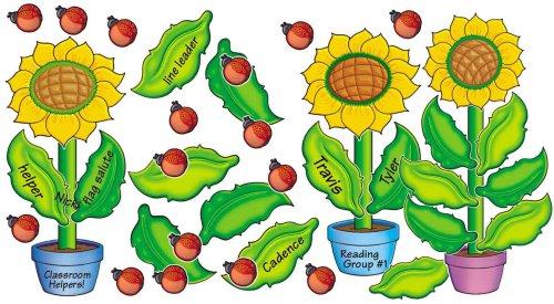 9780439654692: Sunflowers! Bulletin Board
