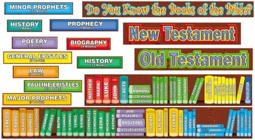 9780439654722: Books of the Bible! Bulletin Board