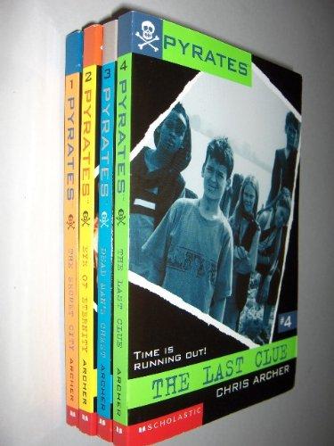 9780439655224: Pyrates Boxed Set Books 1-4 (Pyrates)