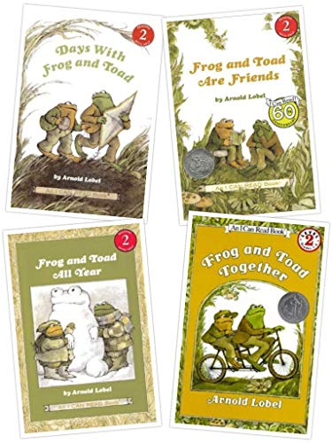9780439655279: Frog and Toad Book Set