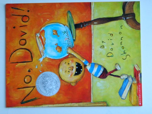 9780439656375: No, David! 1st (first) by David Shannon (2000) Paperback
