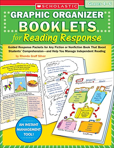 9780439661188: Graphic Organizer Booklets for Reading Response: Grades 4–6: Guided Response Packets for Any Fiction or Nonfiction Book That Boost Students' Comprehension―and Help You Manage Independent Reading