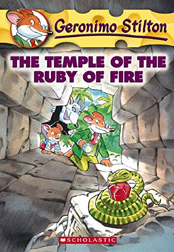 9780439661638: The Temple of the Ruby of Fire (Geronimo Stilton, No. 14)