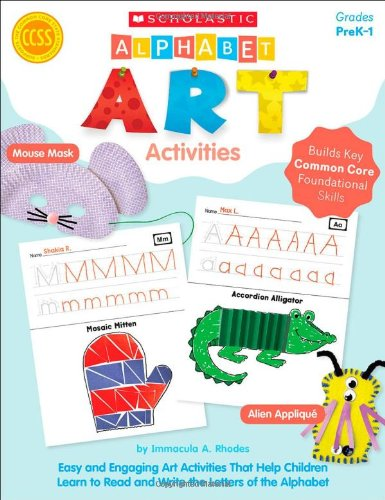 9780439665445: Alphabet Art Activities
