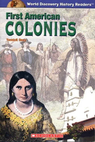 9780439665551: First American Colonies (World Discovery History Readers)