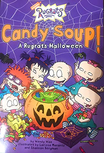 9780439666800: Candy Soup! A Rugrats Halloween