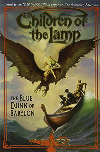 9780439670210: The Blue Djinn of Babylon (Children of the Lamp, Book 2)