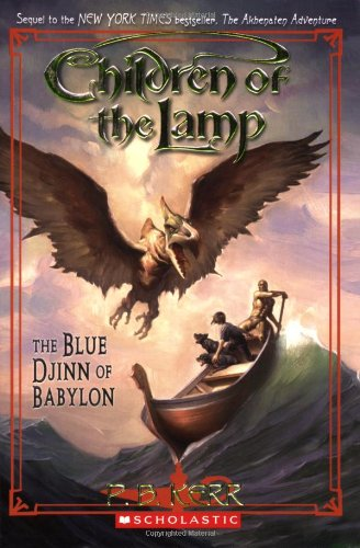 9780439670227: Blue Djinn of Babylon (Children of the Lamp (Paperback))