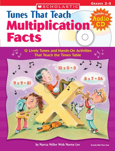 9780439671620: Tunes That Teach Multiplication Facts: Grades 2 - 5