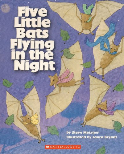 9780439672597: Five Little Bats Flying in the Night
