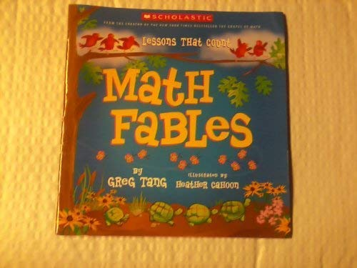9780439678728: Math Fables: Lessons That Count
