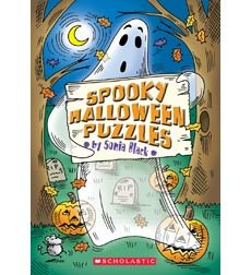 Spooky Halloween Puzzles (0439680174) by Sonia Black; Sonia Black