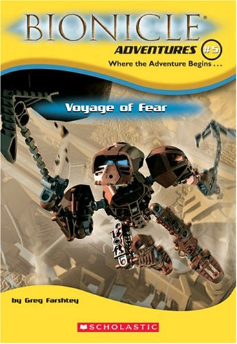 9780439680226: Voyage of Fear (Bionicle Adventures #5)