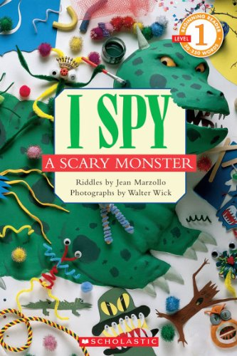 9780439680547: Scholastic Reader Level 1: I Spy A Scary Monster