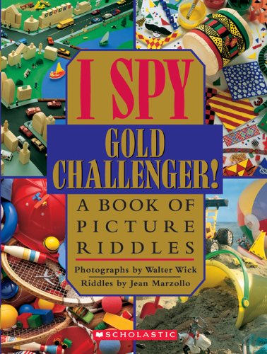 9780439684262: I Spy Gold Challenger! (rlb)