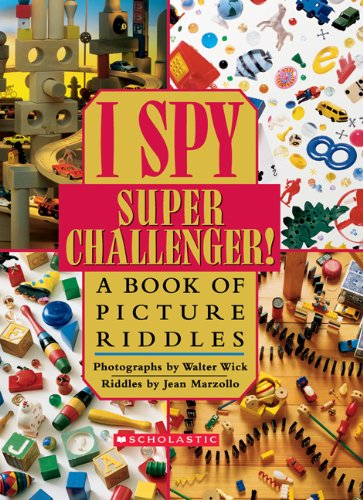 9780439684309: I Spy Supper Challenger