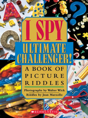 9780439684323: I Spy Ultimate Challenger!
