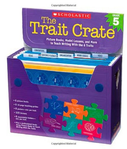 9780439687331: The Trait Crate(r) Grade 5: Picture Books, Model Lessons, and More to Teach Writing with the 6 Traits