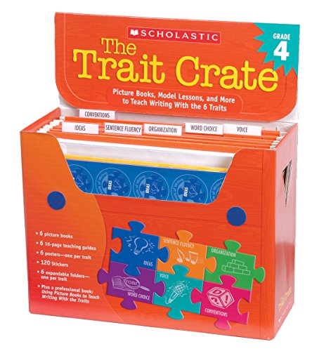 9780439687348: The Trait Crate(r) Grade 4: Picture Books, Model Lessons, and More to Teach Writing with the 6 Traits