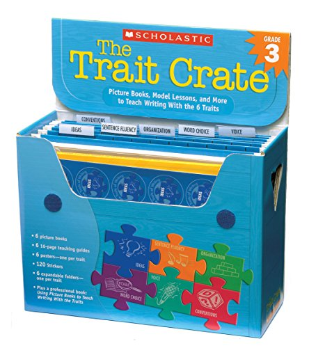 9780439687362: The Trait Crate(r) Grade 3: Picture Books, Model Lessons, and More to Teach Writing with the 6 Traits