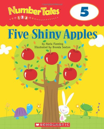 9780439690140: Number Tales: Five Shiny Apples