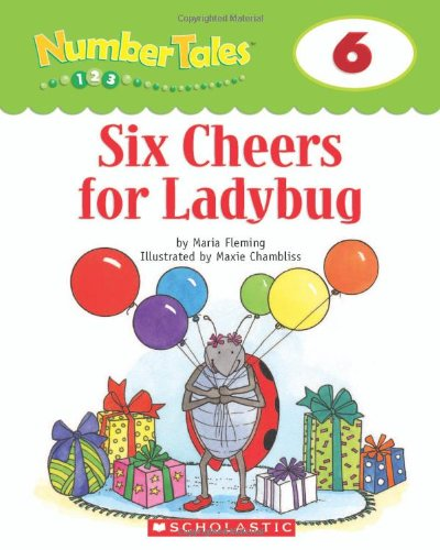9780439690164: Number Tales: Six Cheers for Ladybug
