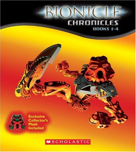 9780439690539: Bionicle Chronicles: Boxed Set #1-4 + Mask
