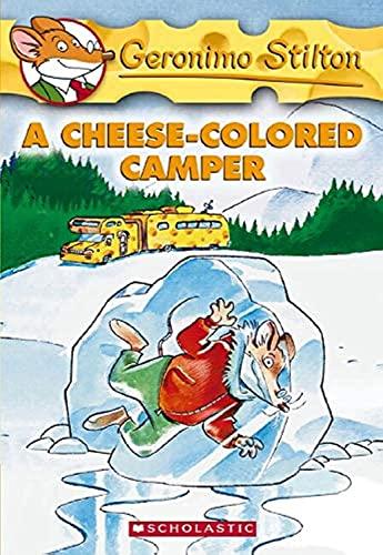 9780439691390: A Cheese-Coloured Camper (Geronimo Stilton)
