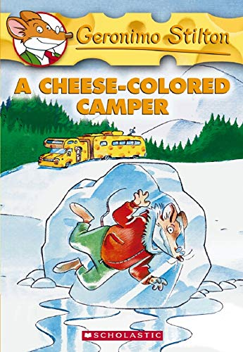 9780439691390: A Cheese-Colored Camper (Geronimo Stilton, No. 16)