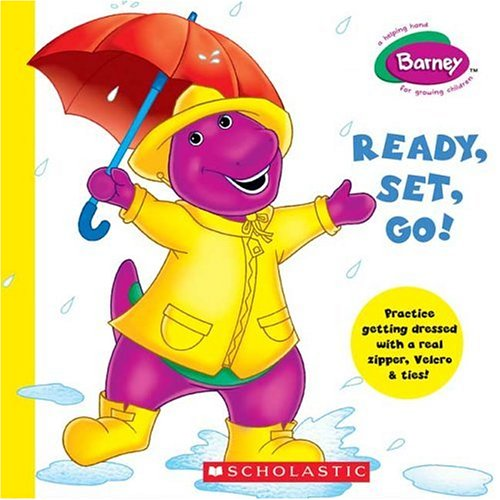 9780439691550: Barney: Ready, Set, Go!