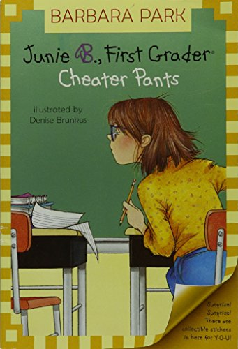 cheater pants book report Come see all of the junie b characters: tattletale may, richie lucille, and more.