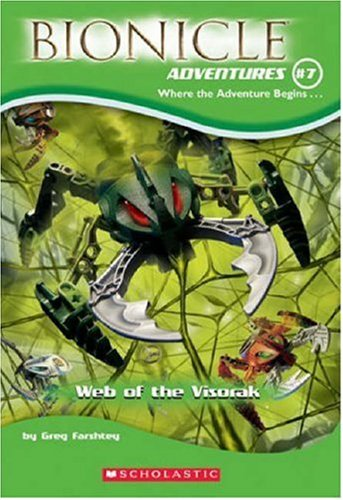 9780439696197: Web of the Visorak (Bionicle Adventures)