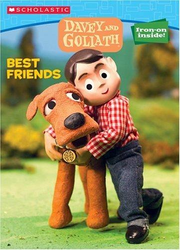 9780439698337: Davey & Goliath Color & Activity #1: Best Friends
